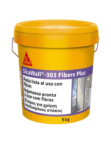 SIKAWALL-303 FIBERS PLUS CUBO 5KG.