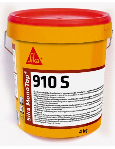 SIKA MONOTOP 910 S GRIS CUBO 4 KG.