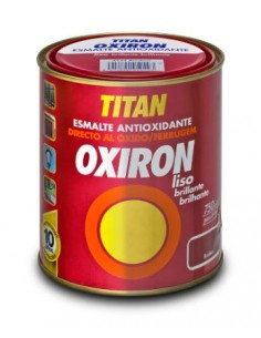OXIRON LISO GRIS METAL 750ML