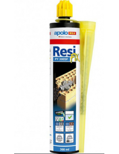 CARTUCHO RESINA MORTERO 410ML.