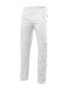 PANTALON STRETCH BLANCO...